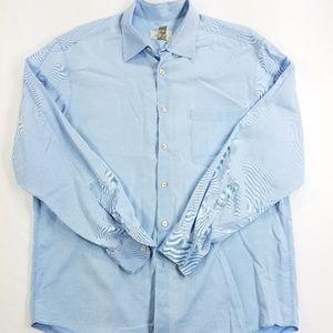 Ermenegildo Zegna Button Front Long Sleeve Shirt